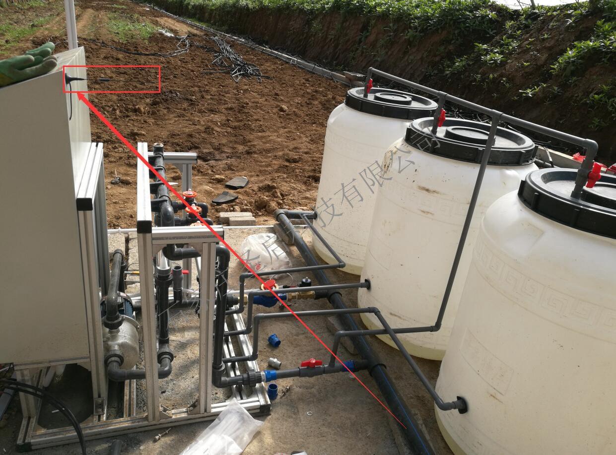 甘肃华亭    水肥一体化系统助力大棚科学灌溉与施肥