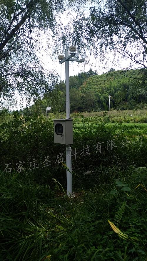 福建省连城——圣启景区环境在线监测系统向世人展现培田古村优质的环境质量